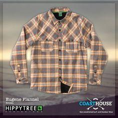 Willkommen in der kalten Jahreszeit! Zieh es an, mach es dir bequem. An Style und Tragekomfort ist dieses edle Stück von den Kollegen von HippyTree nicht zu übertreffen. Das wird schon ärgerlich im Frühjahr, wenn Du dein Flanell nur noch beim Aprés Surf Bier tragen kannst.   -> http://www.coasthouse.de/Men/Hemden/HippyTree-Eugene-Flannel-Brown.html