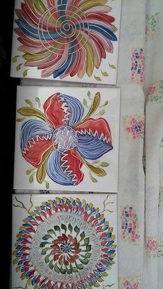 Azulejo flor