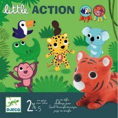 6.000    Little action (Djeco, 8557, első társasjáték, 2-5 év)