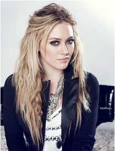 Half Pony: Here are some of her most popular Hilary Duff hairstyles.