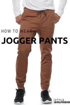 Learn how to wear jogger pants three different ways at stylegirlfriend.com   jogger pants, jogger pants outfit, jogger pants casual, jogger pants fall jogger pants winter, jogger pants outfit dressy, jogger pants outfit mens, how to style joggers, how to style jogger pants, how to style joggers for school, how to style joggers casual, how to style joggers for men, menswear street style, joggers street style, joggers streetwear