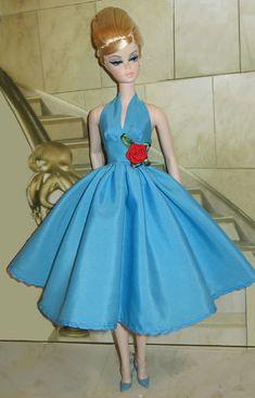 Silkstone Barbie: into blues