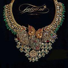 Jewellery Designer, Falguni Mehta's Upcoming Line at the Design One Exhibition Brings Back The Magic Of Jadau Girls Jewelry, Bridal Jewelry, Hyderabadi Jewelry, Gold Jewelry Simple, India Jewelry, Photo Jewelry, Jewelry Collection, Jewelry Design, Mumbai