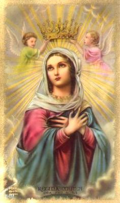 The Rosary Novena to Our Lady Blessed Mother Mary, Divine Mother, Blessed Virgin Mary, Queen Mother, Religious Pictures, Religious Icons, Religious Art, Catholic Prayers, Catholic Art