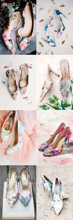 Wedding Shoe Trend: Floral Print! 15 Floral Wedding Shoes We Love!