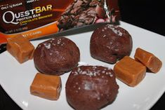 Not so ordi-NANNY me!: Quest Creation - Salted Caramel Brownie Bites