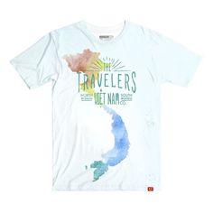 Travelers to Vietnam - Map – Shop áo thun Vietnam Map, Map Shop, Mens Tops, T Shirt, Travel, Shopping, Supreme T Shirt, Tee Shirt, Viajes