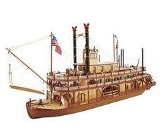 Latina Mississippi Paddle Wheel Steam Boat Kit 20505 for sale online Wooden Model Boat Kits, Wooden Boat Plans, Mississippi, Huckleberry Finn, Wooden Speed Boats, Model Ship Kits, Scale Model Ships, Scale Models, Steam Boats
