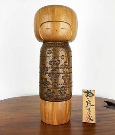 Kokeshi Doll Vintage Umegoyomi by Masashi Takeda