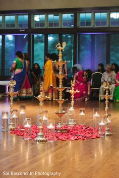 Garba stage http://www.maharaniweddings.com/gallery/photo/92866 @knscottweddings @arvingoel/indian-wedding-decorations-mandaps