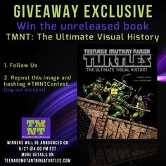 Farago's Teenage Mutant Ninja Turtles: The Ultimate Visual History book us utterly mind blowing and now you can score one through our social media giveaway. #TMNT #NinjaTurtles #TeenageMutantNinjaTurtles #TMNTContest
