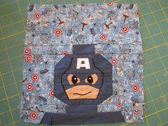 Pintucks and Pinafores : Captain America Tote