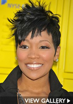 Atlanta Short Hairstyles Black Women | Hairstyle File: Monica Through The Years