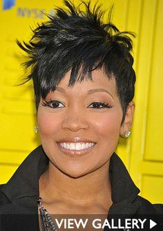 Atlanta Short Hairstyles Black Women | Hairstyle File: Monica Through The Years