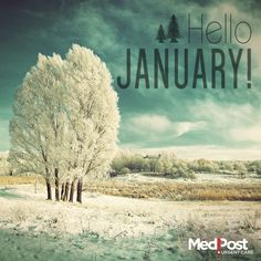 Not only is it January, but it's the start of the new year! What resolutions have you made?
