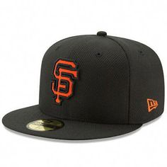 New Era San Francisco Giants Black Diamond Era 59FIFTY Fitted Hat - MLB   baseballhats Baseball 7eba494cc2b
