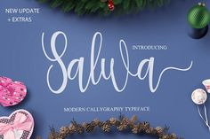 Salwa is a modern calligraphy font created by RT Creative Handwritten Fonts, Calligraphy Fonts, Script Fonts, All Fonts, Modern Calligraphy, Business Brochure, Business Card Logo, Writing Styles, Illustrations