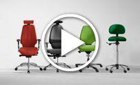 Ergonomische bureaustoelen en kantoorstoelen - RH