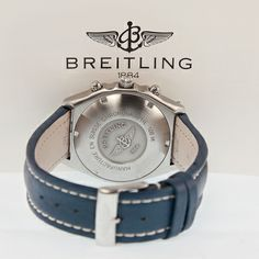 Breitling – Windrider Chronomat, photographed by Pamela Ossola, offered by Georg Königbauer - Watches For Life Watches, Leather, Life, Accessories, Tag Watches, Wrist Watches, Watch, Jewelry