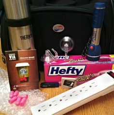 Ten essential items to pack for a cruise - Surge protector, smart... Thermos, not just for coffee ;)