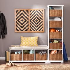 Southern Enterprises Connor Entryway Storage Bench - The Southern Enterprises Connor Entryway Storage Bench is a cottage-chic way to add storage, seating, and style to your home. This versatile...