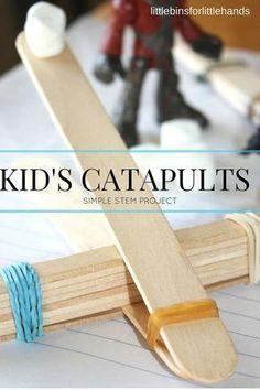 catapults (STEM activity)