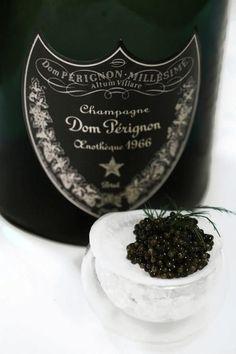Don Perignon Champagne and Caviar. Champagne Dom Perignon, Don Perignon, Le Croissant, Malta, In Vino Veritas, Oysters, The Best, Good Food, Food And Drink