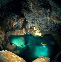 diaforetiko.gr : Πανέμορφες φωτογραφίες από όλη την Ελλάδα! Σπήλαιο Λιμνών,Αχαϊα