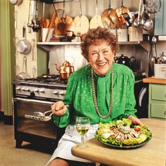 """""""Just speak very loudly and quickly, and state your position with utter conviction as the French do, and you'll have a marvelous time!""""—Julia Child"""