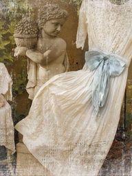 love antique lace dresses