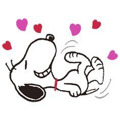 Ahora Snoopy viene con todo lo vintage a los stickers animados. Cómico y encantador como siempre.