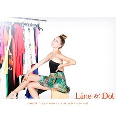 Coming soon! #LineandDot ⚓#Summer2013 #collection #fashion #style #editorial #model @lainerogova @April Oh  (at Line  Dot HQ)