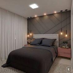 Best 35 Home Decor Ideas - Lovb Bedroom False Ceiling Design, Bedroom Bed Design, Room Ideas Bedroom, Small Room Bedroom, Home Decor Bedroom, Modern Bedroom, Bedroom Signs, Home Door Design, Best Living Room Design
