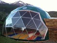 Yoga dome- I would love one of these in my yard