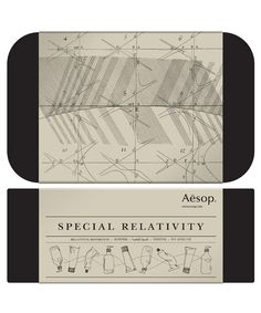 Special Relativity Gift Set.  www.liberty.co.uk