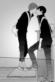 KageHina. Awwww I've read this manga, it's sooo cute XD