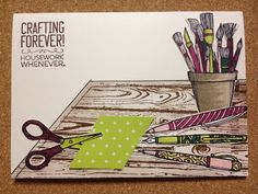 Afbeeldingsresultaat voor stampin up crafting forever cards Stampin Up Anleitung, Creation Art, Stampin Up Catalog, Stamping Up Cards, Cards For Friends, Card Making Inspiration, Paper Cards, Cool Cards, Greeting Cards Handmade