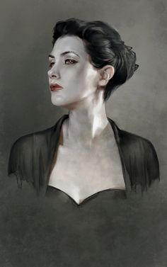 "Fantasy Illustration Blog by Cynthia Sheppard: Two New Portraits, ""Cassandra"" and ""Vasara"""