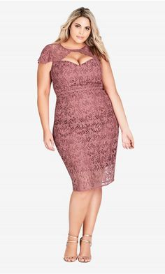 18f08753940 Pretty Lace Dress - Rose. Wrap DressesDressy DressesPlus Size DressesGirls  DressesBohemian ...