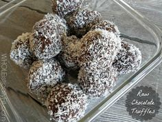 WHOLEistically Fit Raw Chocolate Truffles 1024x768 Ive Discovered A Little {Delicious!} Thing Called...