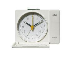 BRAUN Alarm Clock AB310ts | Dietrich Lubs 1982 | W.85 D.20 H.65mm
