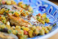 Bonito mit Rübchenvielfalt Orangen-Salat Quelle: kuechenereignisse.com