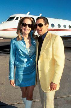 Sharon Stone and Robert De Niro, Casino, 1995.