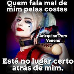 O Que Não Mata Nos Fortalece.What does not kill us strengthens. Memes Status, Disney Memes, Face Skin, Harley Quinn, Girl Power, Bff, Haha, Joker, Funny