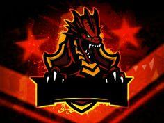 Design Discover Gaming Logo Design Ideas images in 2020 Team Logo Design, Logo Desing, Creative Logo, Logo D'art, Logo Animal, Logo Dragon, Wolf Artwork, Esports Logo, Game Logo