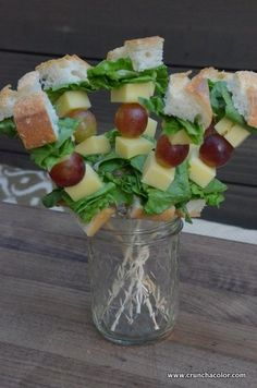 healthy lunch ideas sandwich skewers