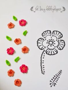 33 Ideas For Knitting Charts Rose Beautiful Crochet Crochet Puff Flower, Crochet Flower Tutorial, Crochet Diy, Crochet Flower Patterns, Irish Crochet, Crochet Flowers, Simple Crochet, Pattern Flower, Crochet Ideas