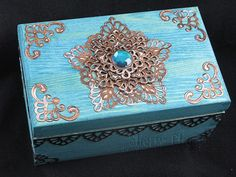 I am going to try and make this Moroccan Box for my next project.