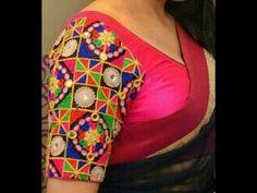 Kutch embroidery blouse designes wedding Kutch work embroidery mirror work blouse designs,festiv, occational blouse in Kutch work designes,latest Kutch work . Types Of Embroidery, Learn Embroidery, Hand Embroidery Designs, Embroidery Art, Embroidery Stitches, Embroidery Patterns, Hardanger Embroidery, Beautiful Rangoli Designs, Satin Stitch