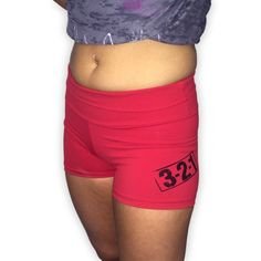 Women's CrossFit-style Compression Shorts from 321 Apparel (Red) These form fitting women's CrossFit-style Compression Shorts from 321 Apparel are form fitting, Crossfit Shorts, Compression Shorts, Fitness Inspiration, Booty, Workout, Stylish, Red, Fashion, Moda